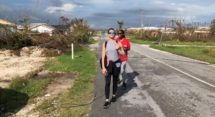 NYRN Disaster Relief in Bahamas